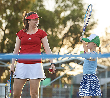 Girls on Court to Boost Fitness